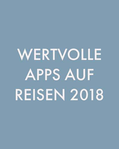 wertvolle apps auf reisen 2018