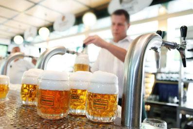 Schweizerhaus Biergarten und Das Budweiser Bier, Hotel Vienna in der Nähe vom Prater Empfehlung Package öffentlich Verkehrsmittel