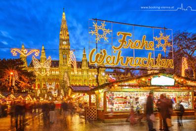 Weihnachten Wien Christkindlmarkt City Hotel günstig Prater Nähe Messe Wien