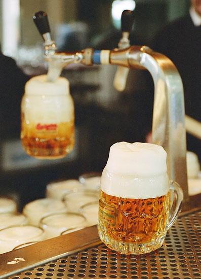 Schweizerhaus Biergarten und Das Budweiser Bier, Hotel Vienna in der Nähe vom Prater