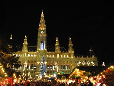 Wiener Christkindlmarkt www-hotelurania.at