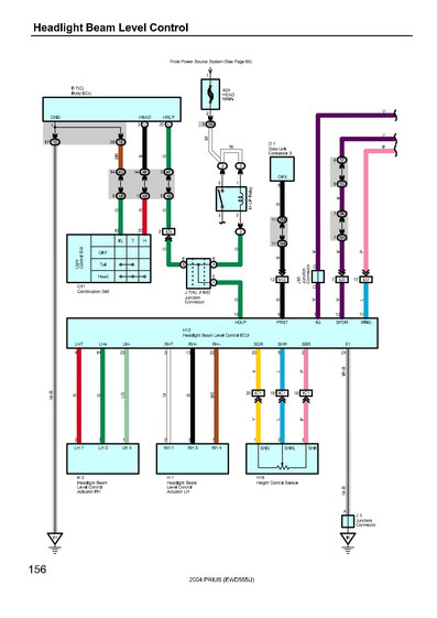 Toyota Prius Wiring Diagrams Car Electrical Wiring Diagram