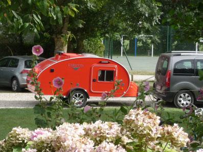 Camping La Safrière-3 étoiles-Baie de Somme-emplacement de passage -caravane-arborés-locations mobil-homes-tentes-caravanes-aire camping car-agneaux prés salés-train touristique-proche Parc du Marquenterre- Le Crotoy-Saint Valery sur Somme.