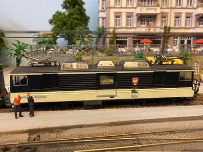 GDe4/4 6003 h0m bemo panoramic express modallbahn modellayout