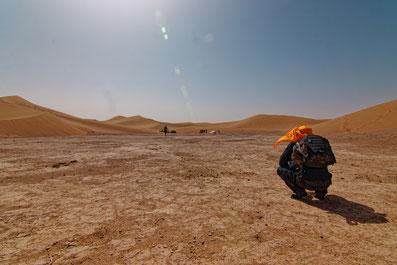 Vacances et Voyage jeûne désert Maroc