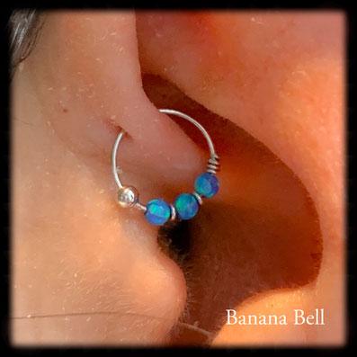 Piercing opales