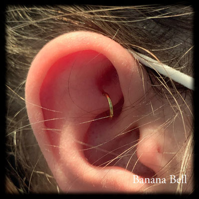 Anneau BCR piercing Rook