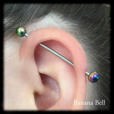 Barre industriel piercing
