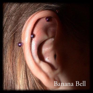 Industriel Piercing bijoux titane