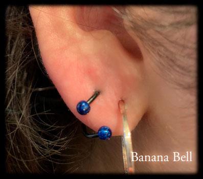 BIjou piercing Spiral Lobe