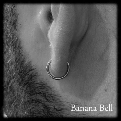 Anneaux piercing oreille