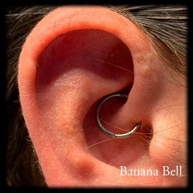 Piercing daith anneau