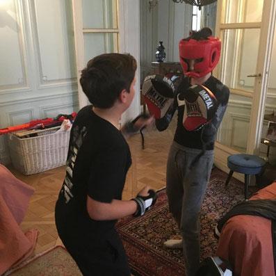 Cours de boxe personnalisé pour enfant et femme