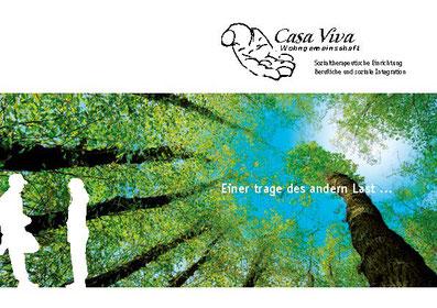 Wohngemeinschaft Casa Viva, Sozialtherapeutische Einrichtung, Berufliche und soziale Integration, Holderbank