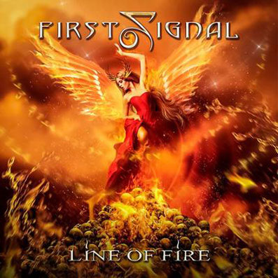 First Signal Line Of Fire Album Cover Artwork