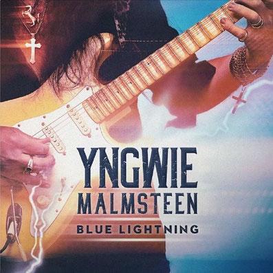Yngwie Malmsteen 187 Blue Lightning 171 Cover Album Kommt Ende