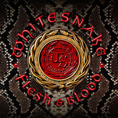 Whitesnake Flesh & Blood Cover-Artwork