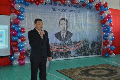 """Заместитель главы МО """"Омолойский национальный наслег"""" Сыроватский Б.Б."""