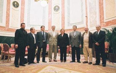 Las asociaciones con el Sr. Manuel Marín.