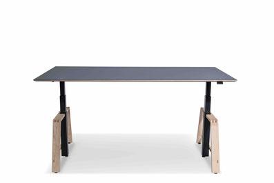 Schreibtisch MOTU - höhenverstellbarer Tisch für das Büro