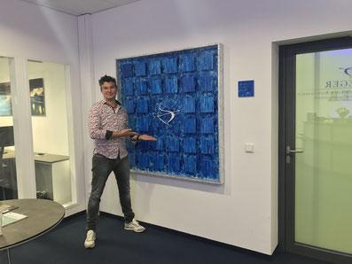 Sascha Hartwich, Kunstwerk, Auftragsarbeit, Kanzlei Krieger