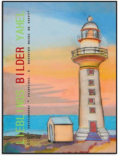 Whyalla Lighthouse, Australia, 100x70cm, Pastellkreide auf Papier, Mindestgebot 59€