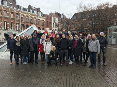 Alle Partnerstädte am Samstag in Lille - Foto: Viefhues