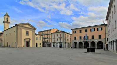 Piazza di Terranuova Bracciolini