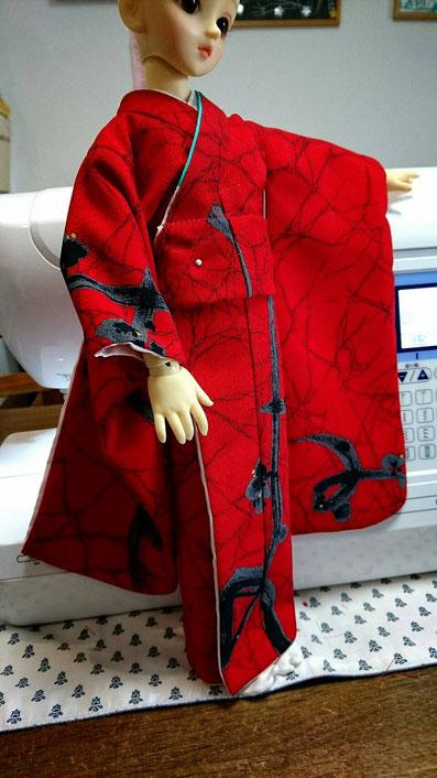 ミニSD kimono,SDミディ 着物,ドルフィー 和装