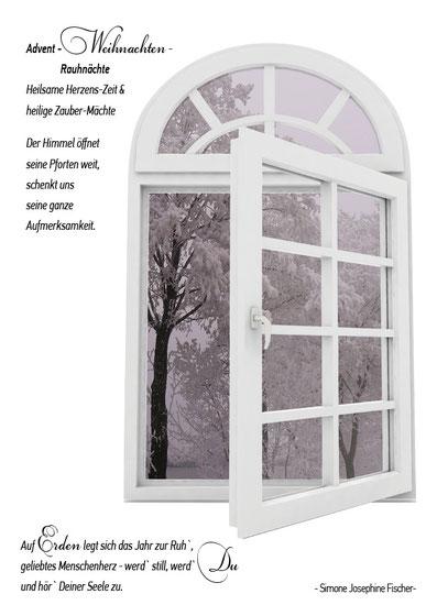 Lichtgarten Licht-Garten Kerzen Teelichter Simone Fischer Postkarte Postkarten Bücher Advent