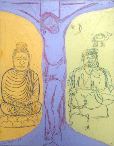 56.  Lord Buddha, Jesus , Muhammad  2 - Courtesy of John Herbert