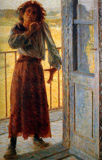 "Giacomo Balla ""La pazza"" (1905)"