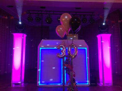 Geburtstag feiern DJ