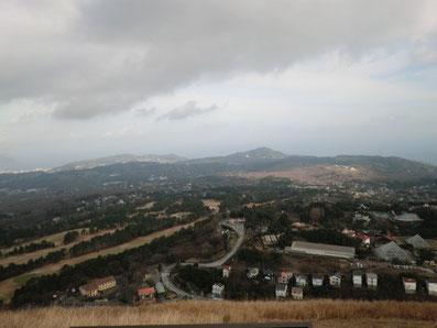 北方向の眺望