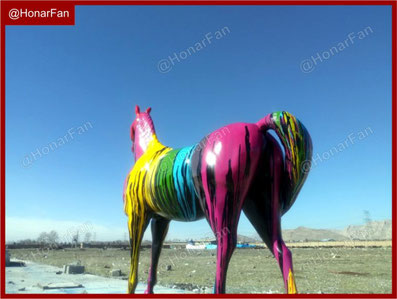 دکوراسیون داخلی دکوراسیون خارجی ساخت ماکت گاو بزرگ اسب دکوری گوساله قیمت ساخت