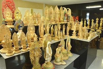 仏像展示風景1