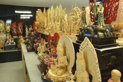 仏像展示風景2