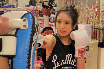 GRABS kickboxing studio レディースクラス