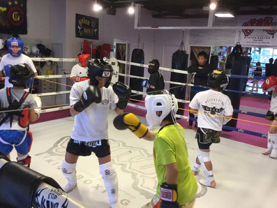 GRABS kickboxing studio キッズ・ジュニアクラス