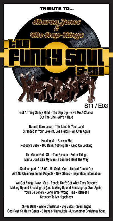 radioshow 'the funky Soul story S11-E03 - Tribute To Sharon Jones