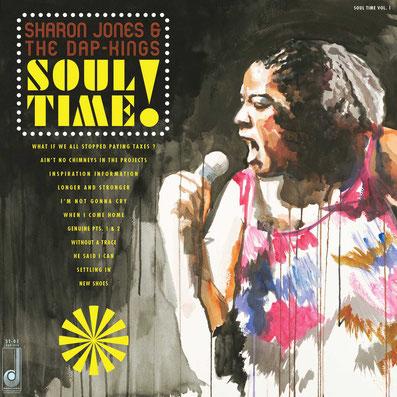 Sharon Jones & The Dap-Kings  - 2011 / Soul Time