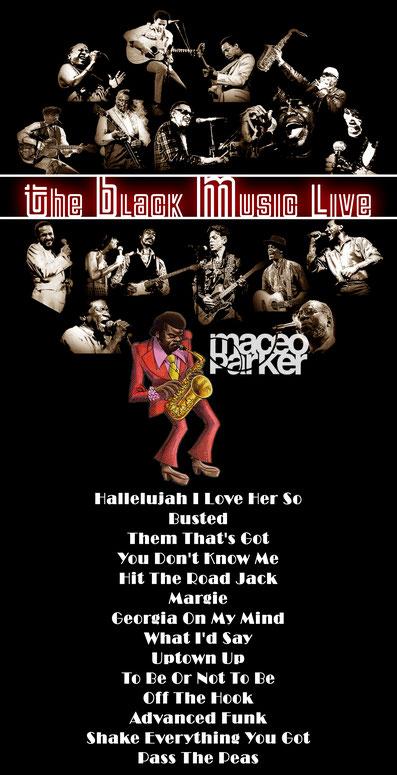 the Funky Soul story - Playlist de l'émission The Black Music Live #32 avec Maceo Parker