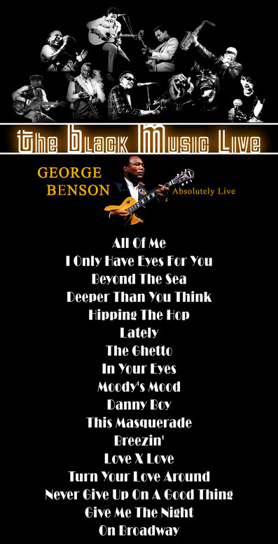 the Funky Soul story - Playlist de l'émission The Black Music Live #42 avec George Benson