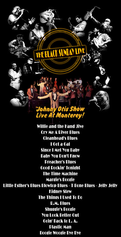 the Funky Soul story - Playlist de l'émission The Black Sunday Live #17 avec The Johnny Otis Show