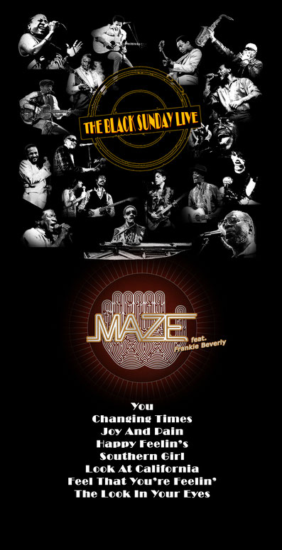 the Funky Soul story -Playlist de l'émission The Black Music Live #02 avec Maze feat. Frankie Beverly