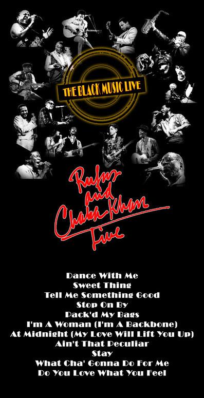 the Funky Soul story - playlist émission The Black Music Live (Rufus & Chaka Khan)