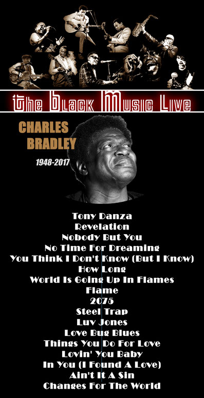 the Funky Soul story - Playlist de l'émission The Black Music Live avec Charles Bradley