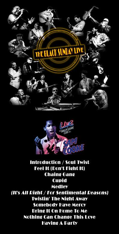 The Black Sunday Live #15 - Sam Cooke