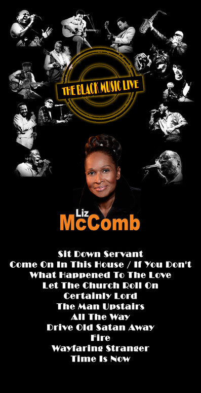 the funky Soul story - émission The Black Music Live avec Liz McComb