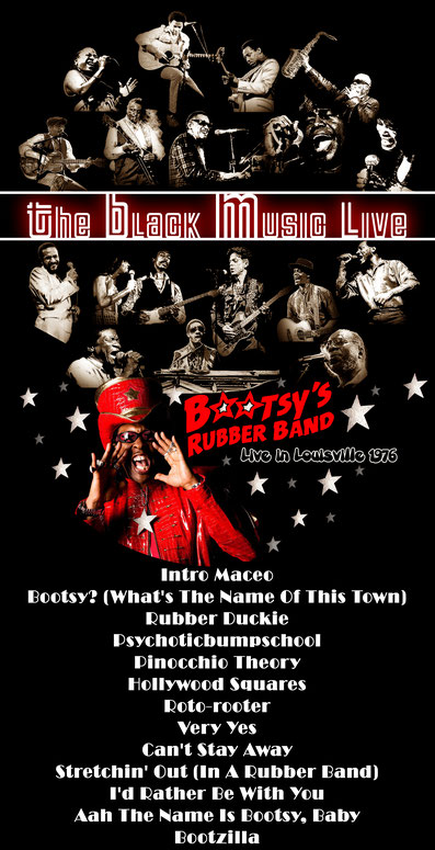 the Funky Soul story - émission The Black Music Live avec The Bootsy's Rubber Band